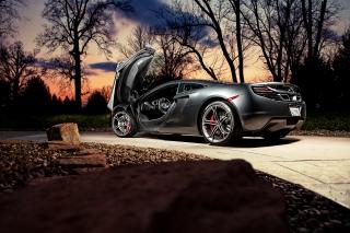 McLaren Sunset